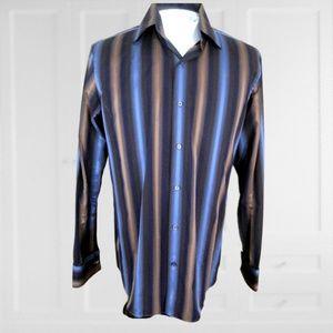 Banana Republic Men Dress shirt L striped 16.5